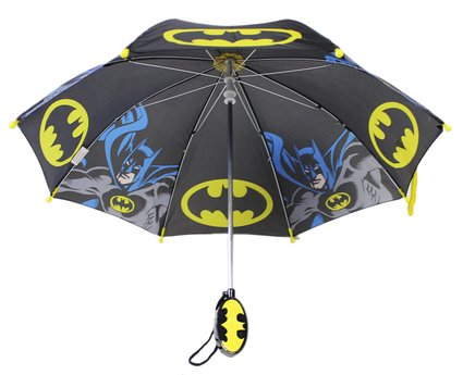 Umbrella - DC Comics - Batman Logo Black (Youth/Kids) New #BTR64599ST