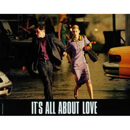 It's All About Love POSTER Movie E Mini - Quotes About Halloween And Love