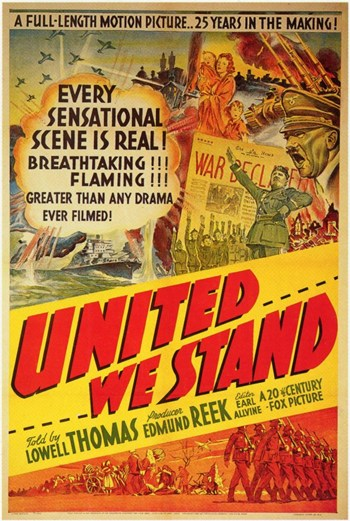 United We Stand Movie Poster (11 x 17) by Pop Culture Graphics