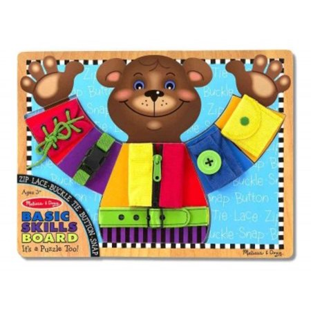 Basic Skills Board](Melissa And Doug Basic Skills Board)