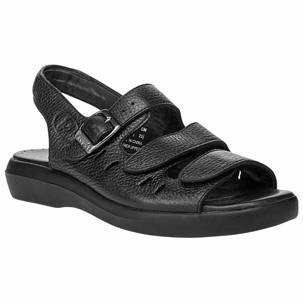 Propet Breeze Sandals Women's Black by Propet