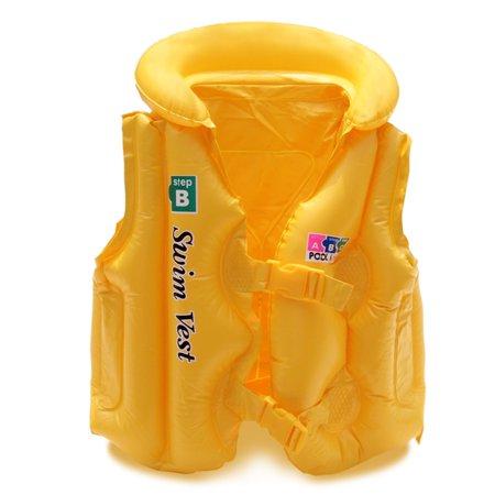 Kid Safety Float Inflatable Swimming Vest Children Life Jacket Safety Swim Floating Drifting Swimsuit (Float Safety Marker)
