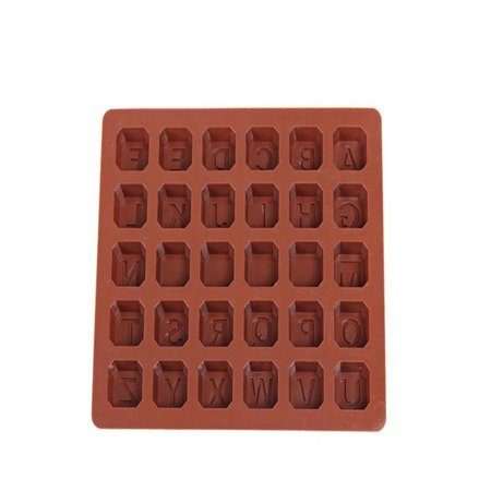 Huppin's 26 Letter Silicone Mold Chocolate Spaces Ice Cube Mold Cake Mold Bbaking Mold](Outer Space Cake)