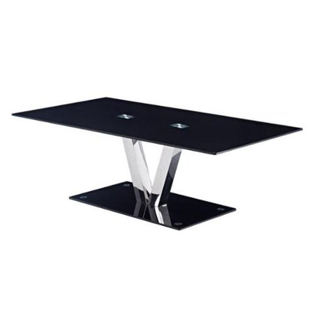Modern tempered glass coffee table for Tempered glass coffee table