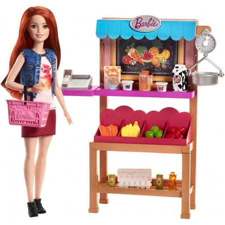 Barbie Careers Grocery Supermarket Register Food Stand (Best Careers For Midlife Career Changers)
