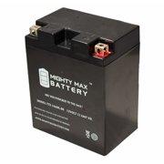 YTX14AHL 12V 12Ah Battery Replaces High Performance Power Sports ATV