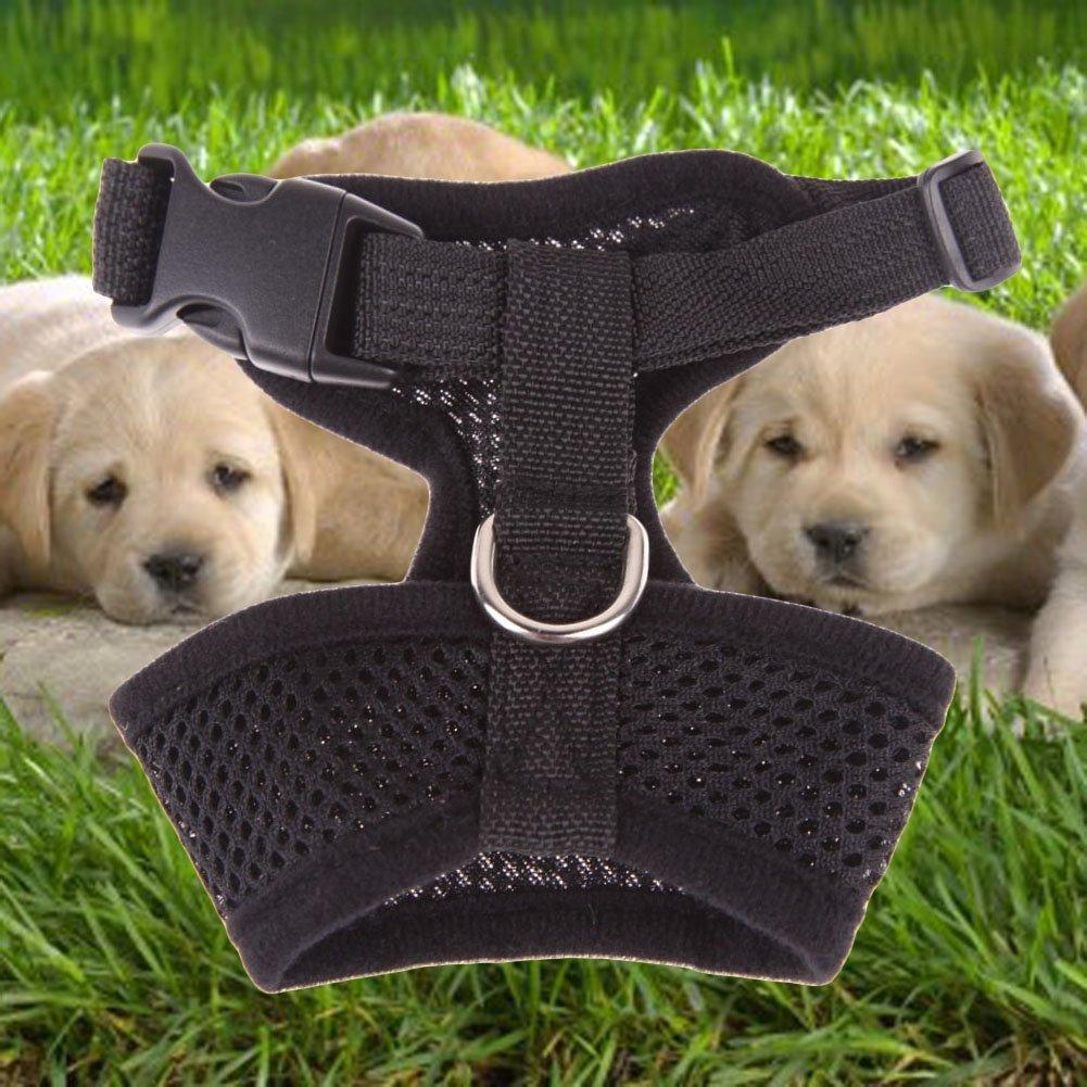 Chinatera Dog Harness Soft Air Nylon Mesh Pet Harness Dog Cloth Dog Cat Vest
