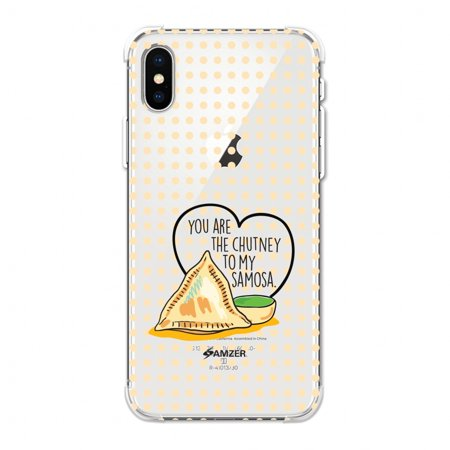 - iPhone Xs Max Case, Ultra Slim ShockProof iPhone Xs Max Case Flexible HD Designer TPU Reinforced Impact Resistant Back Cover for Apple iPhone XS MAX (2018) - You Are The Chutney To My..