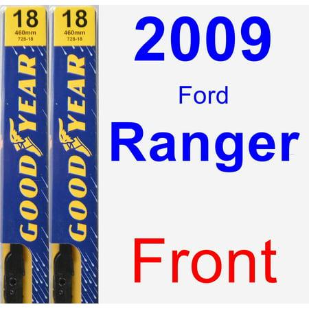 (2009 Ford Ranger Wiper Blade Set/Kit (Front) (2 Blades) - Premium)