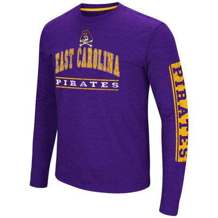East Carolina Pirates Colosseum Sky Box L/S T-Shirt - Arch Print ()