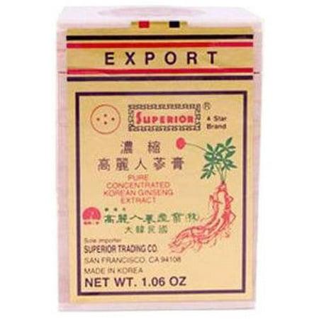 Superior Trading Le ginseng extrait concentré Pâte, 1 FL OZ