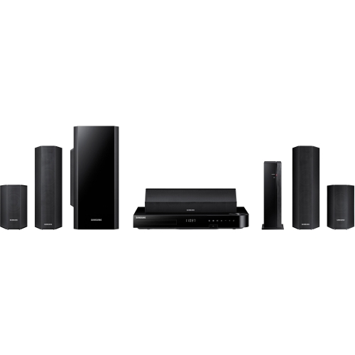 Samsung Home Theater System 5.1ch 1000W Multi-Room (HT-H6500WM ZA) by Samsung