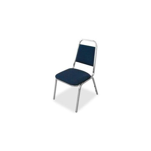 LORELL All-Purpose Stack Chairs, 26x28x34-3/8, 4/CT, Blue