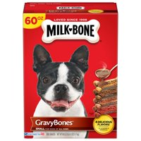 Milk-Bone Gravy Bones Dog Biscuits, Small (Various Sizes)