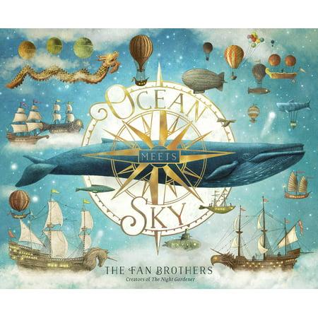 Ocean Meets Sky (Hardcover)