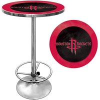 "Trademark NBA Houston Rockets 42"" Pub Table, Chrome"