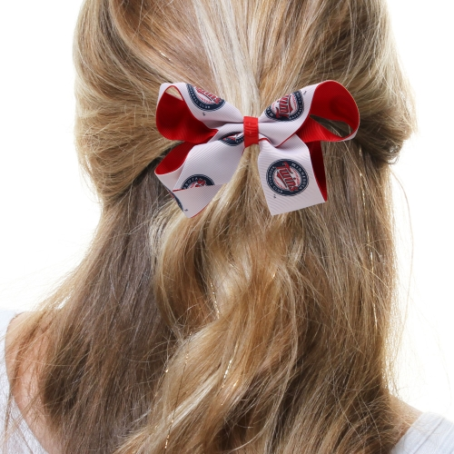 Minnesota Twins Two-Tone Hair Bow - No Size