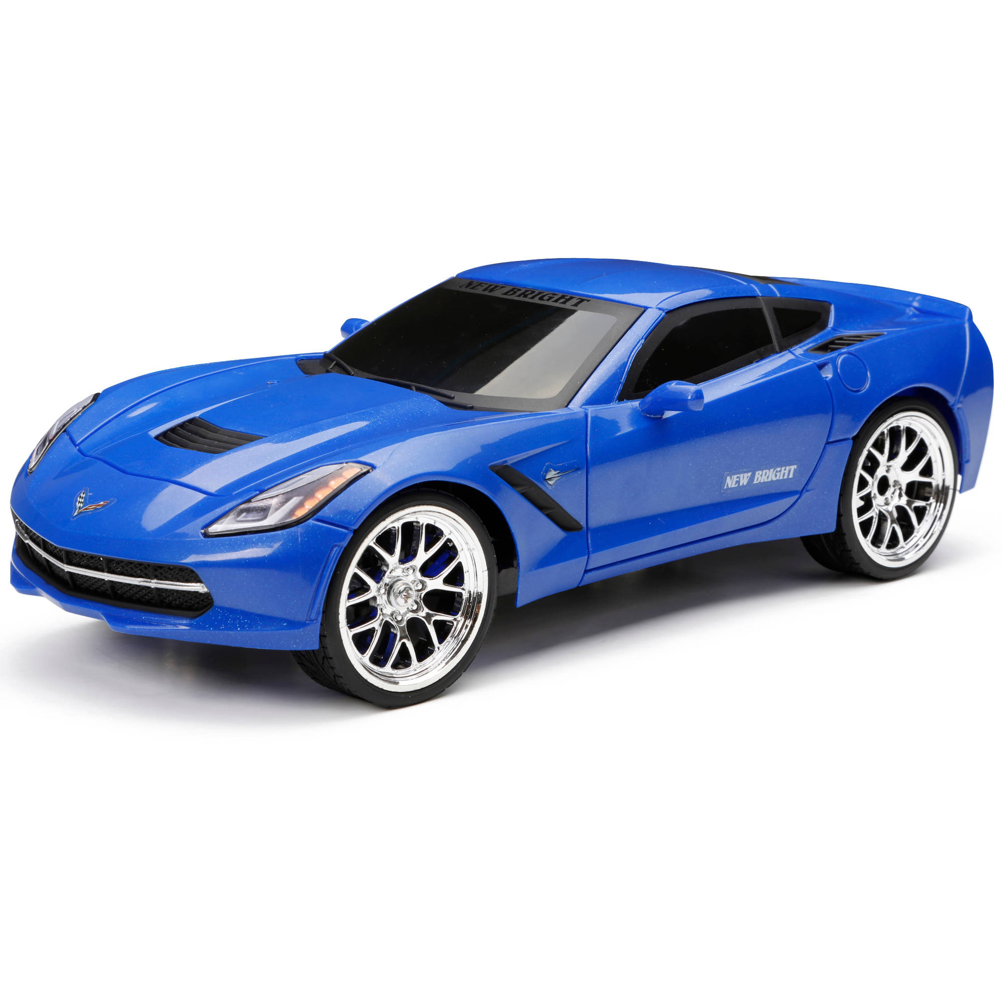 New Bright 1:16 Radio-Control Full-Function Corvette, Blue