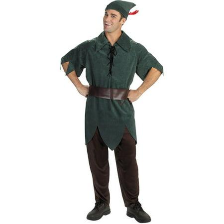 Peter Pan Classic Adult Halloween Costume - Walmart.com