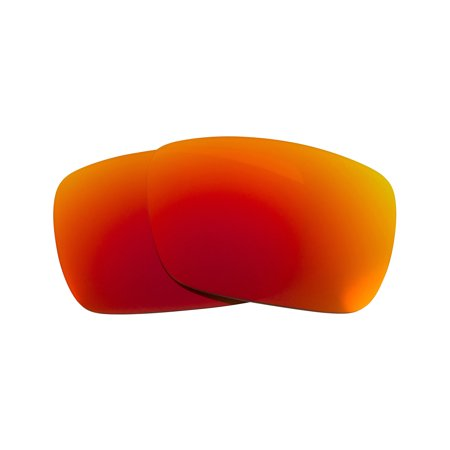 Replacement Lenses Compatible with VON ZIPPER ELMORE Polarized Red (Von Zipper Sham Polarized)