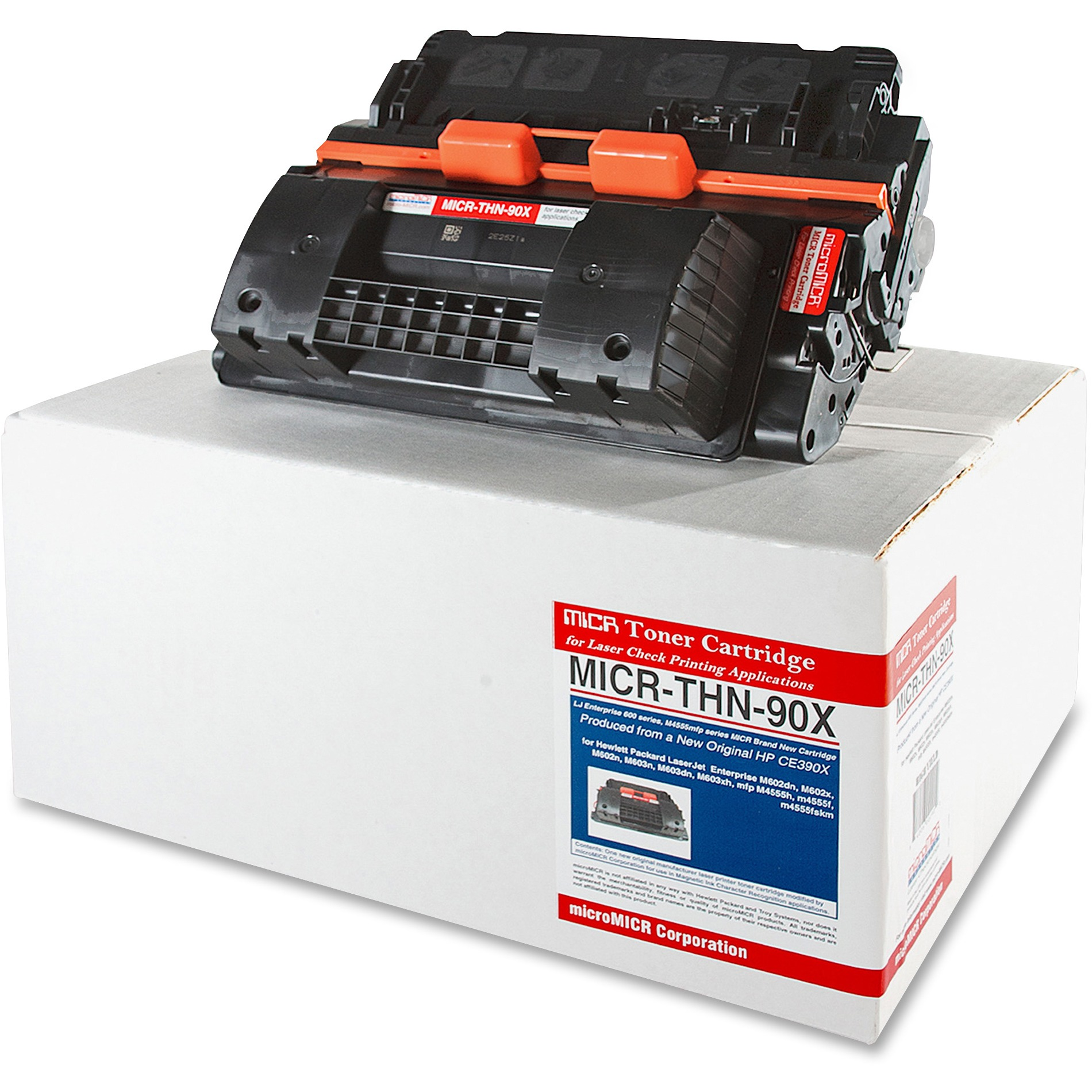 Micromicr MICR Toner Cartridge Alternative for HP (CE390X) by microMICR