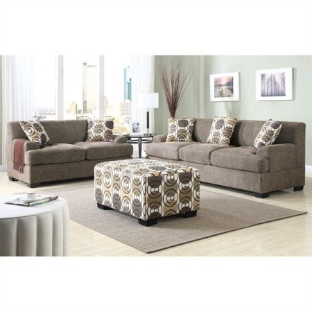 by leather grey set furniture poundex light bonded loveseat sofa p cupboard image