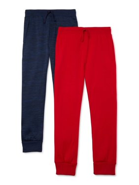 Range Boys Sweatpant Joggers 2-Pack, Sizes 4-16