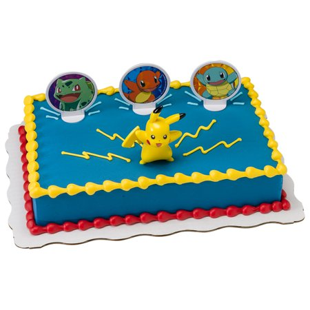 Pokemon Light Up Pikachu Kit Cake
