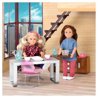 Lori Furniture - Modern Dining Set