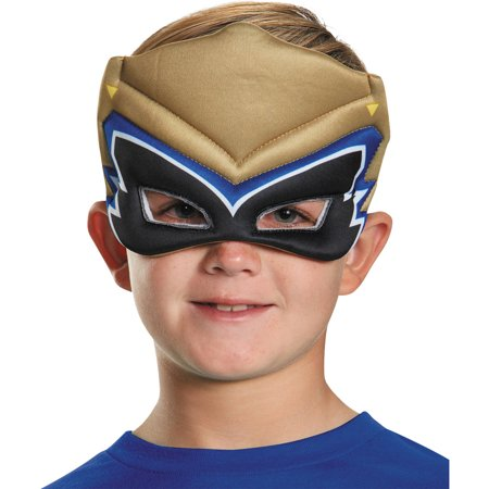 Gold Ranger Dino Charge Puffy Mask Child Halloween - Gold Ranger