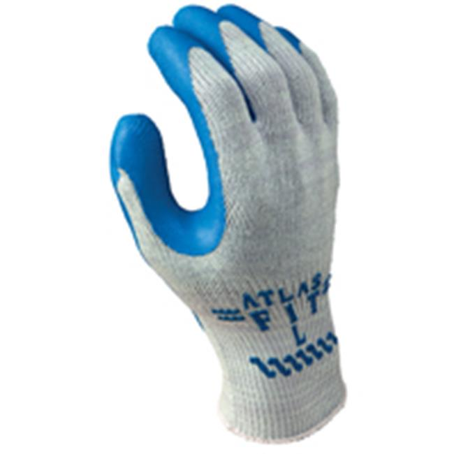 300S-07.RT Glove Gray With Blue Coating Small - image 1 de 1