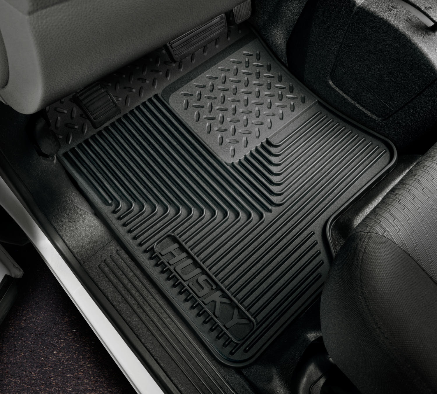 Husky Liners Front Floor Mats Fits 02-06 Avalanche 1500,002-06 Avalanche 2500 51031