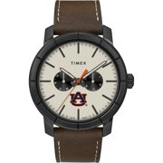 Men's Auburn University Tigers Timex Watch Home Team Leather Watch