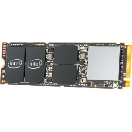 Intel 760P Series - 1 TB Internal Solid State Drive - PCI Express - M.2 2280 - Retail - SSDPEKKW010T8X1 ()