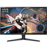 "LG 32"" 2560x1440 HDMI DP 144hz 5ms 4K QHD Freesync Gaming Monitor - 32GK650-F"