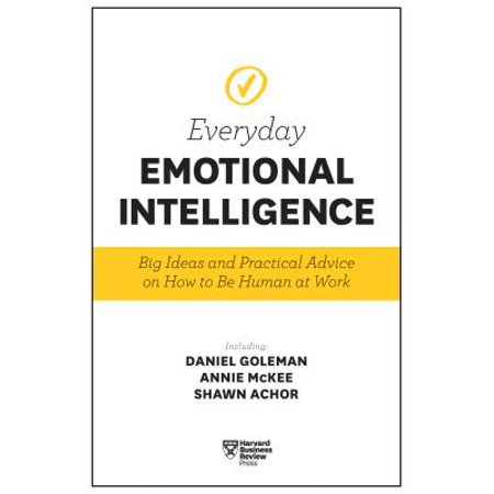 Harvard Business Review Everyday Emotional Intelligence : Big Ideas and Practical Advice on How to Be Human at - Halloween At Work Ideas