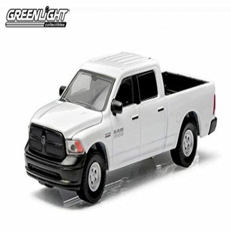 "Greenlight 2014 Dodge Ram 1500 ""Work Truck "" 1:64 Scale (White)"