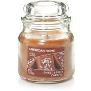 American Home by Yankee Candle Sweet & Salty Caramel, 12 oz Medium Jar