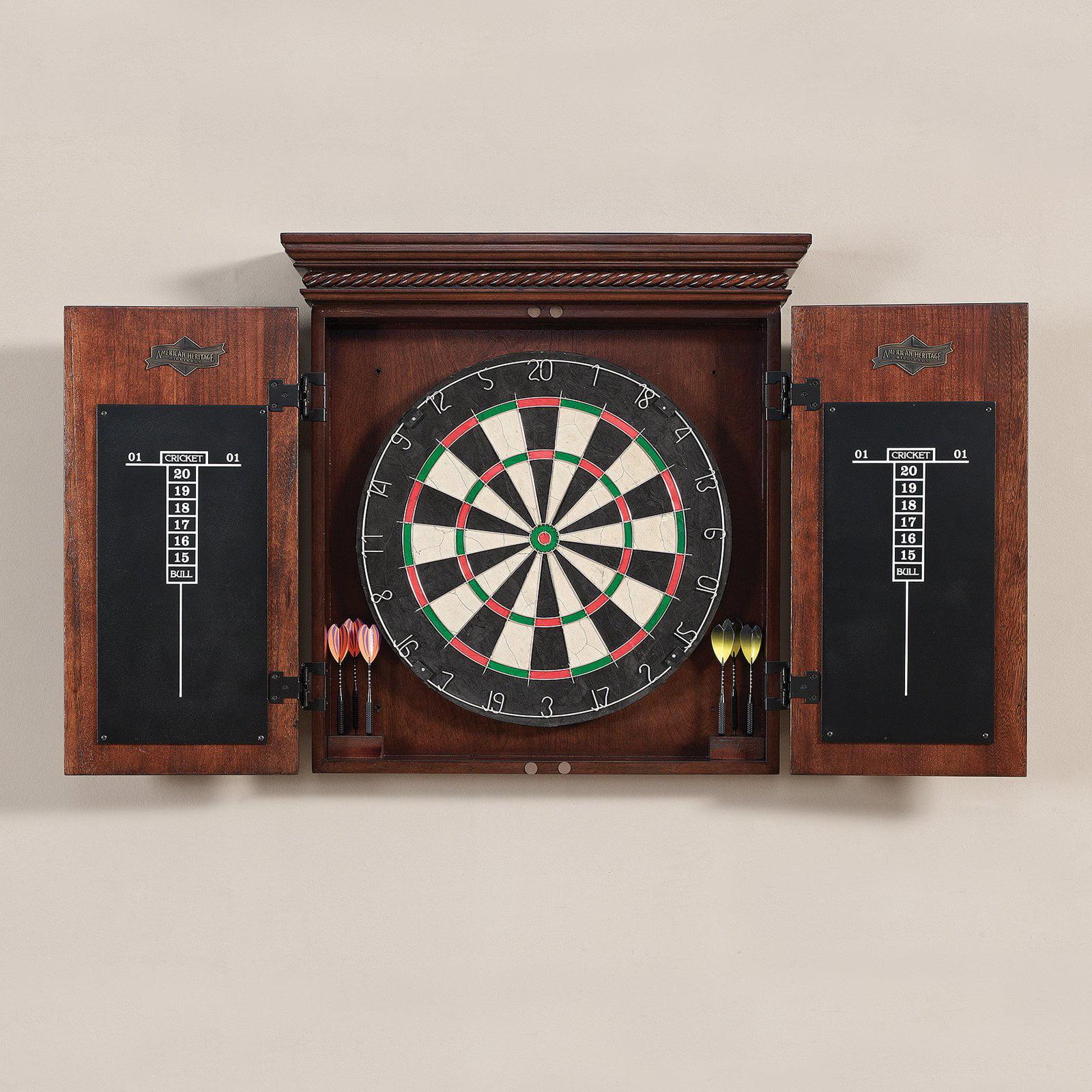 American Heritage Cavalier Bristle Dart Board Complete Set by Overstock