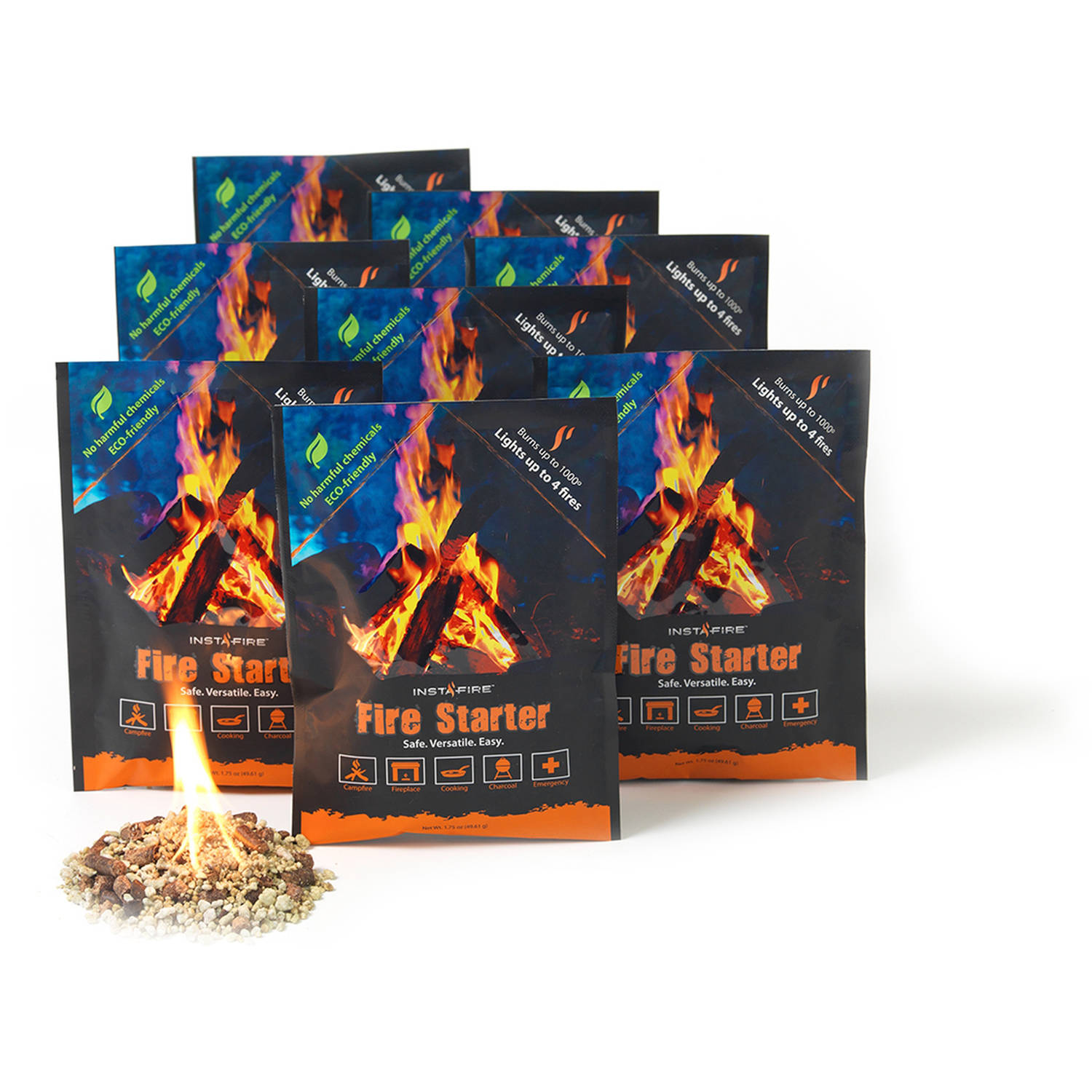 Insta Fire 8-Count Fire Starter by