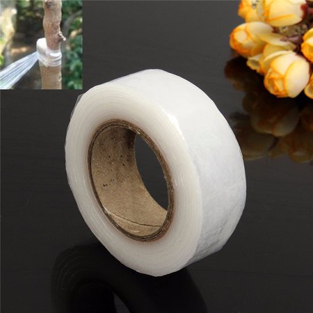 Meigar 2cm x 80m Transparent Nursery Grafting Tape Self-Adhesive For Garden Tree -
