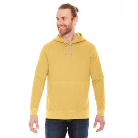 Authentic Pigment Unisex French Terry Hoodie - MUSTARD - 2XL AP207