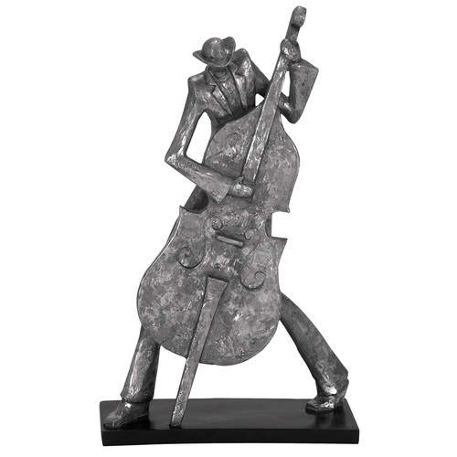 EC World Imports New Orleans Mardi Gras Jazz Cello Musician Figurine by ecWorld