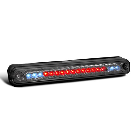 Pickup Led Third Brake Light - Spec-D Tuning For 1994-2000 Chevy Gmc C10 C/K Pickup Led 3Rd Brake Light Third Stop Lamp Smoke 1988 1989 1990 1991 1992 1993 1994 1995 1996 1997 1998 1999 2000