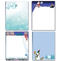 Holiday Notepads - 4 Funny Christmas Notepads