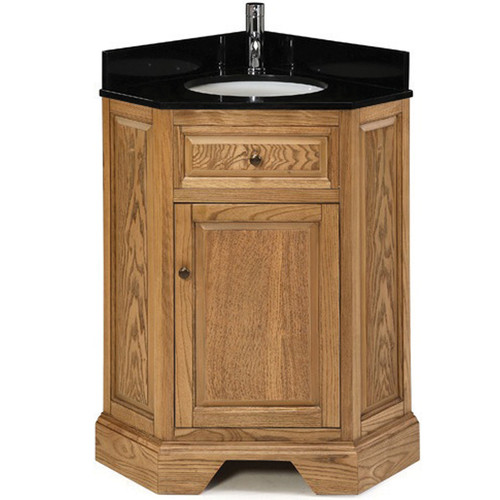Pegasus Chesapeake 26u0027u0027 Single Corner Bathroom Vanity Set
