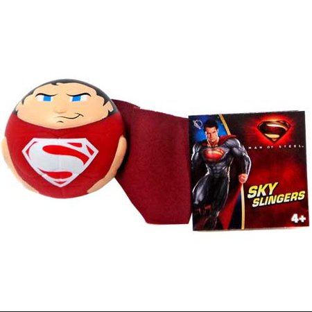 Superman Man of Steel Sky Slingers Superman Ball Figure [Red - Superman Returns Suit