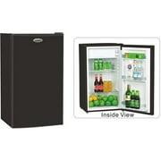 Hardware Express 284040 Lodging Star 3.6 Cu. ft. Refrigerator, Black