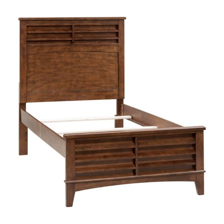 Liberty Chelsea Square - Liberty Furniture Industries Chelsea Square Youth Panel Bed - Burnished Tobacco