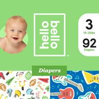 Hello Bello Diapers Club Box - The Potty Bowl & Li'l Rockers (Choose Your Size)